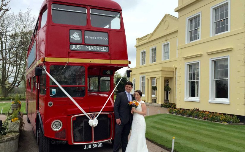 Wedding-Couple-Red-Bus-