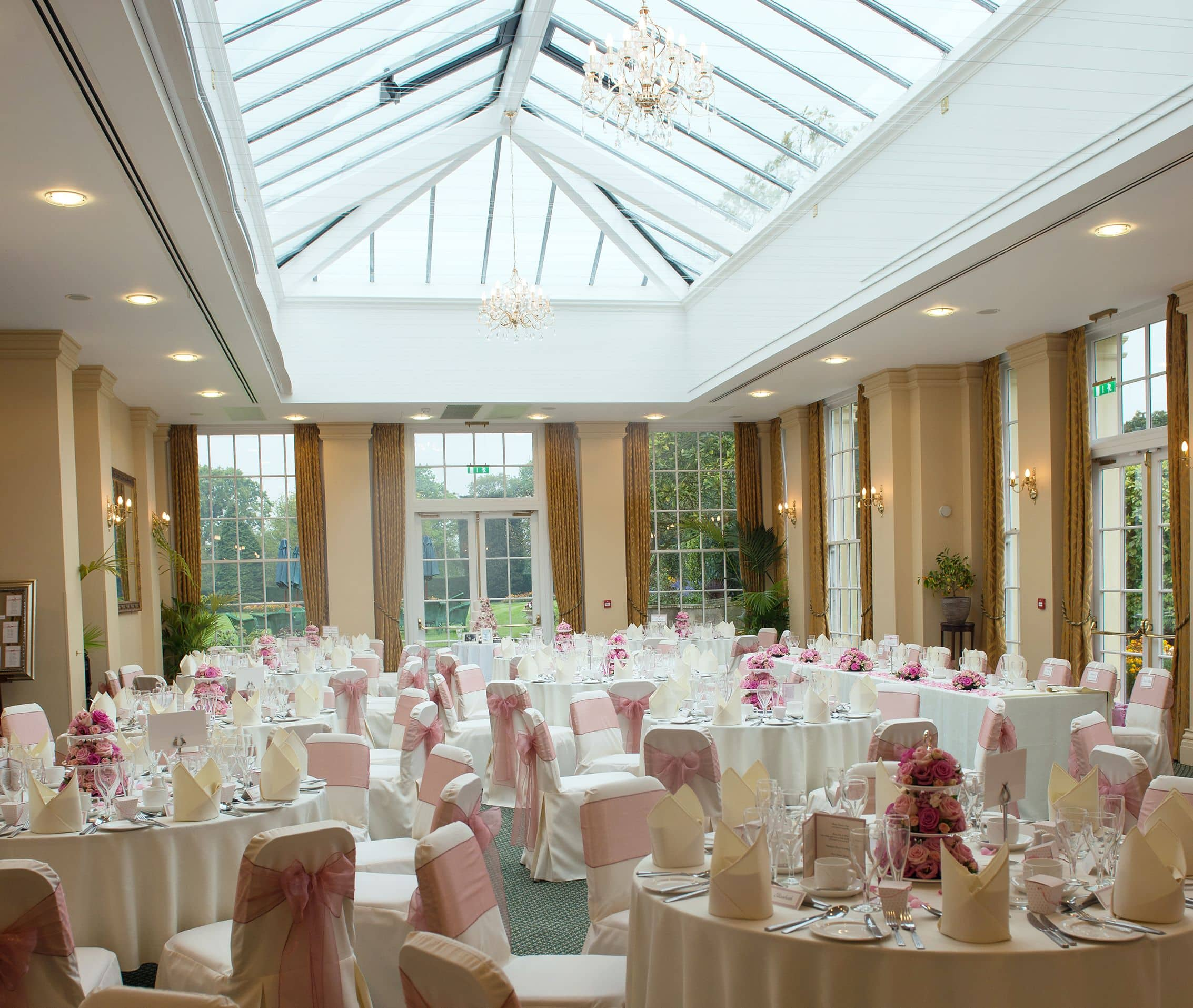Reception Ceremony Hall: The Orangery, Perfect For Your Wedding Reception Drinks