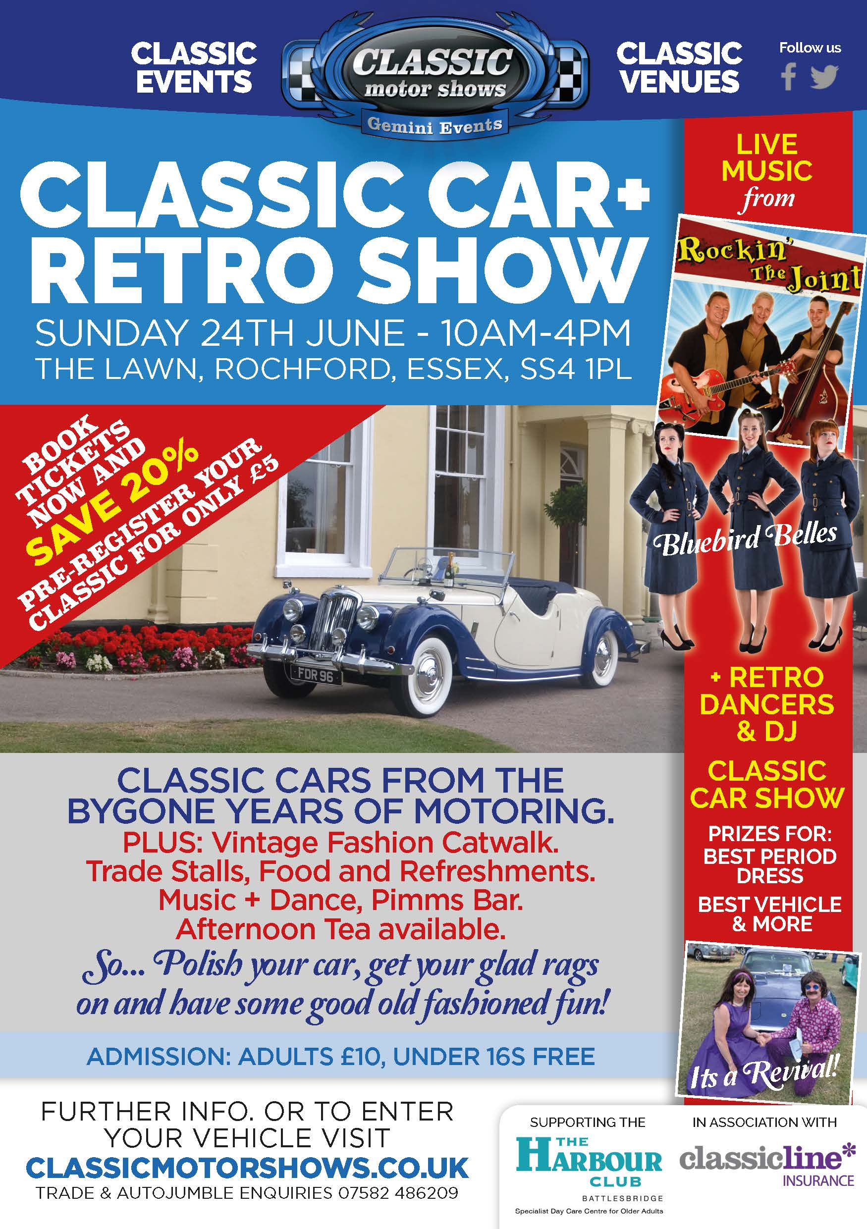 Classic Car Show - The Lawn
